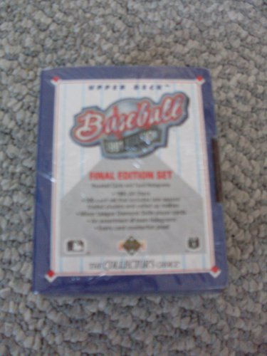 New Sealed Boxed Set 1991 Upper Deck Baseball Cards Final Edition Set