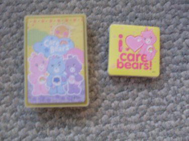 Care Bears Magic Towel & Boxed Playing Cards NEW