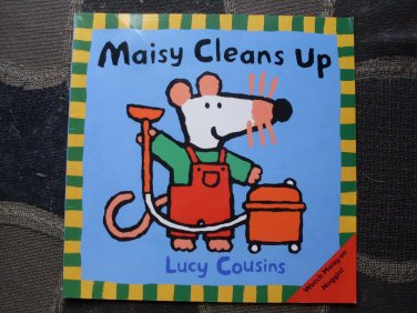 PB Book Maisy Cleans Up Lucy Cousins
