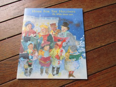 White House Collectibles Christmas Home for the Holidays book 2001