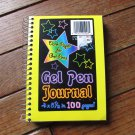 Gel Pen Paper Note Book Lined Stationery Journal