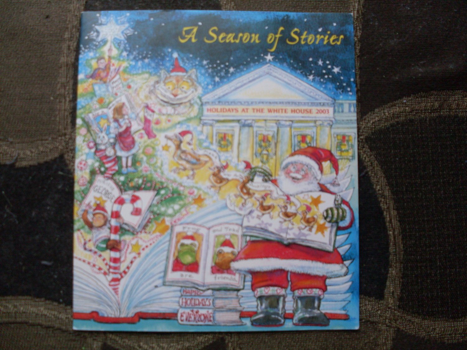 White House Collectibles Christmas book 2003 Kellogg