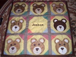 Teddy Bear quilt
