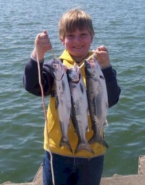 MICHIGAN COHO FISHING - KIDS' SPECIAL