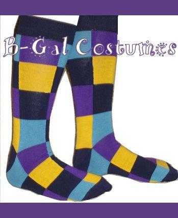Joker Costume Socks - FREE SHIP