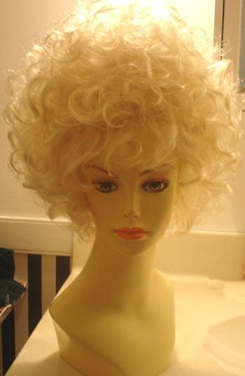Celebrity wearing wigs