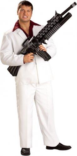 Scarface Giant Inflatable Machine Gun~Costume~Gangster~Tony Montana