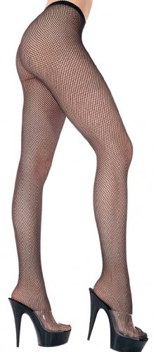 Black Fishnet Pantyhose~Hose~Stockings~One Size~Halloween