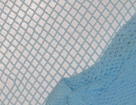 Baby Light Blue Fishnet Pantyhose~Hose~Stockings~One Size~Halloween