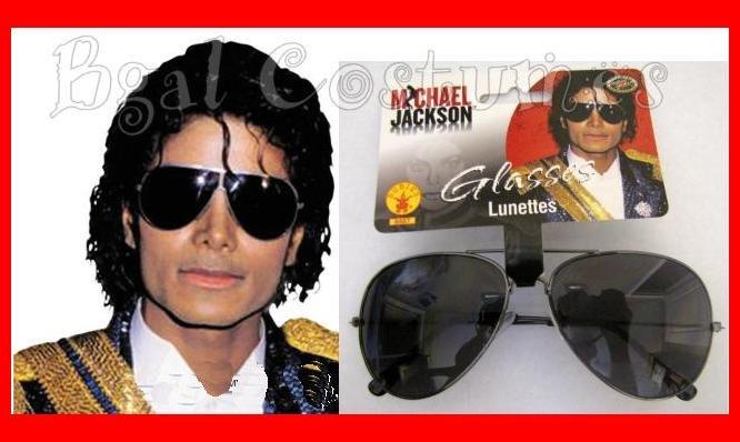 Official Michael Jackson Costume Sunglasses~Glasses~Halloween