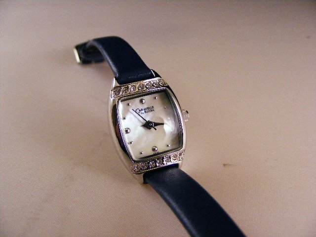 Caravelle/Bulova Ladies Swarovski Crystal Watch 43L40