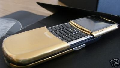 Nokia 8800 Gold Plated cell phone  Tmobile, Cingular
