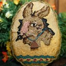 Antique Bunny Egg