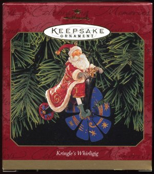 Hallmark KRINGLE'S WHIRLIGIG dated 1999 celestial Santa