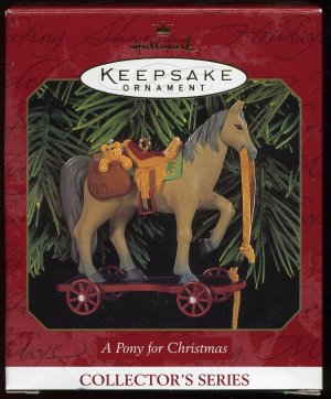 Hallmark A PONY for CHRISTMAS #2 dated 1999