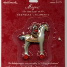 Hallmark Magnet Pony for Christmas FIRST in series