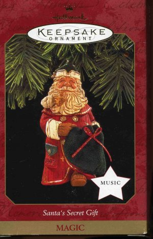 Hallmark SANTA'S SECRET GIFT Magic 1997 Music