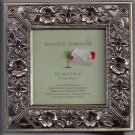 "Exotic Travels 5"" x 5"" Floral Metal Frame"