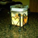 Village Candle Square Jar Candle Decorative Holder