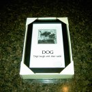 DOG  - Dogs laugh with their tails! Photo frame