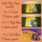 Kodak Photo Paper mixed lot