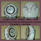 Lladro Clock Discontinued Retired 1994
