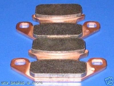 SUZUKI BRAKES 87-90 LT500R QUADZILLA FRONT BRAKE PADS 2-128