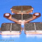 KAWASAKI BRAKES 1987 KXT250 250 TECATE FRONT & REAR BRAKE PADS #1-3030S-1-5020S