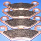 POLARIS BRAKES 99-03 MAGNUM 500 (2X4/4X4 HDS) FRONT BRAKE PADS #2-7036S