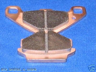 KAWASAKI 94-08 EX 500 NINJA 500 SOLID ROTOR REAR BRAKE PADS #5020S
