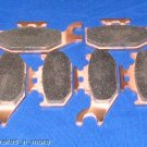 JOHN DEERE BRAKES 04 - 05 TRAIL BUCK 650 FRONT & REAR BRAKE PADS #2-7064S-1-2049
