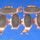 JOHN DEERE BRAKES 04 - 05 TRAIL BUCK 500 FRONT & REAR BRAKE PADS #2-7064S-1-2049S