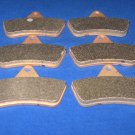 BRAKES 1998 ARCTIC CAT ATV 454 4x4 & 2x4 FRONT & REAR BRAKE PADS 3-7063s