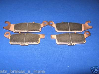 YAMAHA 07-11 GRIZZLY 700 REAR BRAKE PADS #1-445-446