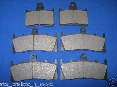 SUZUKI BRAKES 01-02 GSXR 1000 FRONT & REAR BRAKE PADS 2-3044K 1-5039K