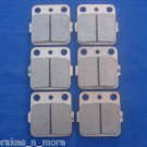 HONDA BRAKES 93 - 09 TRX 300EX TRX300EX FRONT & REAR BRAKE PADS #3-3030S