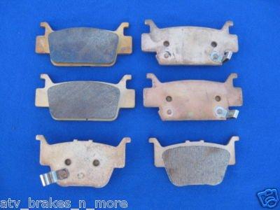 HONDA BRAKES 06 - 08 RINCON TRX680 TRX 680 Front & Rear BRAKE PADS #2-1090S-1-1084S W/SHM