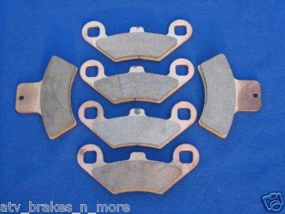 POLARIS BRAKES 98-02 SPORTSMAN 500 4x4 FRONT & REAR BRAKE PADS 2-159-1-270