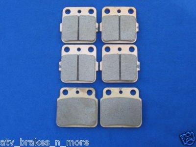 KAWASAKI BRAKES 03-05 KAWASAKI KFX400 400 FRONT & REAR BRAKE PADS #2-3030S-1-3036S
