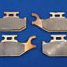 BOMBARDIER CAN AM BRAKES 08-09 RENEGADE 500 4X4 EFI FRONT BRAKE PADS #1-2049S-1-7064S