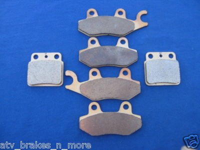 SUZUKI BRAKES 06-09 LTR450 LTR 450 R450 FRONT & REAR BRAKE PADS #1-135-165-137