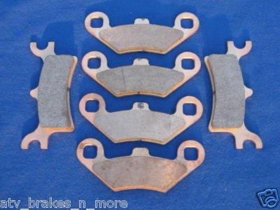 POLARIS BRAKES 06-07 SPORTSMAN 450 FRONT & REAR BRAKE PADS #2-7036-1-7058S
