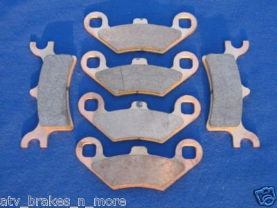 POLARIS BRAKES 02 MAGNUM 325 4x4 HDS FRONT & REAR BRAKE PADS #2-7036-1-7058S