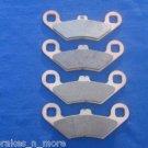 POLARIS BRAKES 2007 HAWKEYE  2/4 4X4 REAR BRAKE PADS #2-7036S