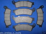 HONDA BRAKES 96-02 ST 1100 A ABS Model FRONT & REAR BRAKE PADS 3-1082K