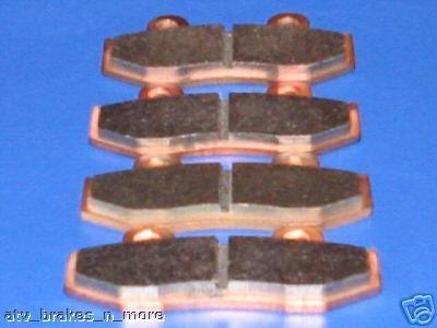 HONDA BRAKES 85-86 ATC250R 250R ATC FRONT & REAR BRAKE PADS 2-15-92