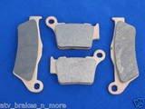 KTM 01-03 EXC 520 / SX 520 FRT/RR BRAKE PADS BRAKES 1-181 1-208