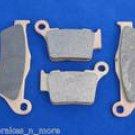 KTM 94-03 300 EXC 300EXC FRT/RR BRAKE PADS BRAKES  1-181 1-208