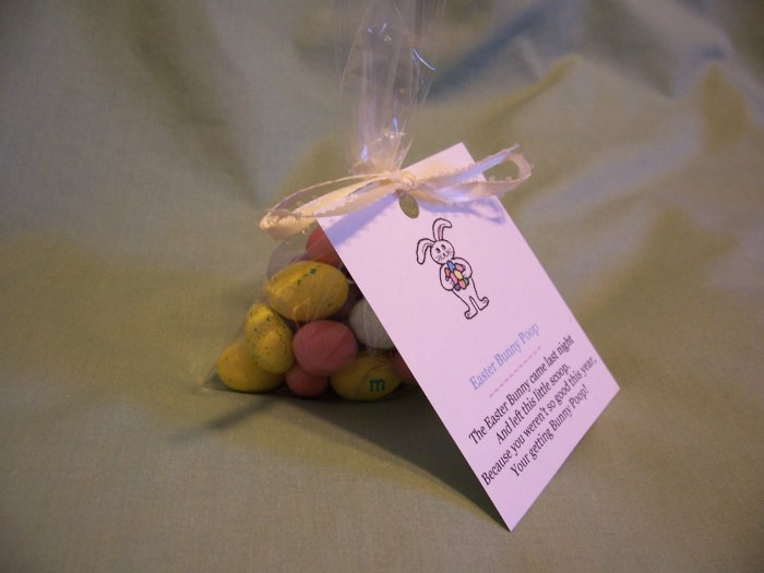 Easter Bunny Poop Novelty Candy Gift or Favor - M&M's