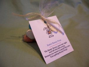 Easter Bunny Poop Novelty Candy Gift or Favor - Whoppers